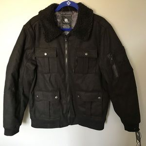 NWT Men's Rock & Republic Military jacket